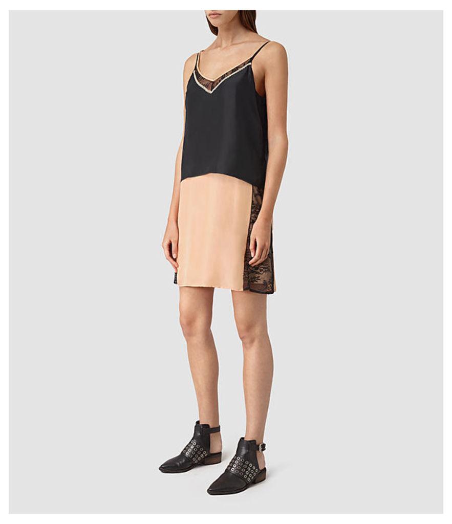 Alena Silk Slip Dress