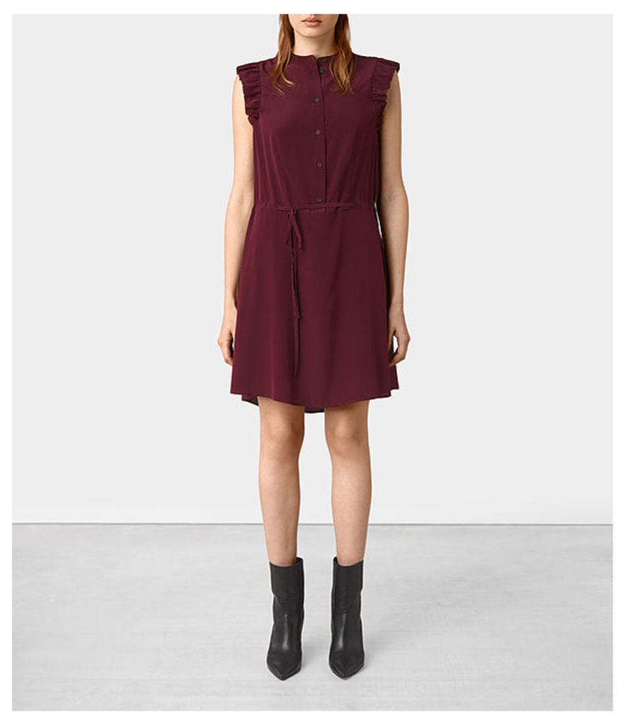 Sora Sleeveless Silk Dress