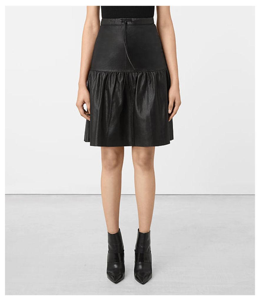 Long Haslam Skirt