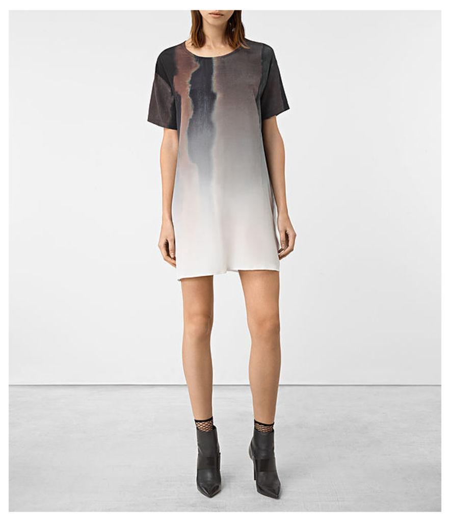 Cora Cosmos Silk Dress