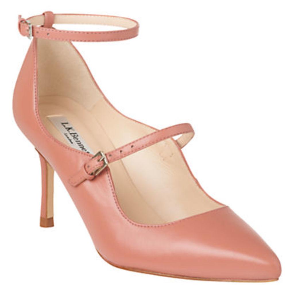 L.K. Bennett Natalia Double Strap Stiletto Court Shoes