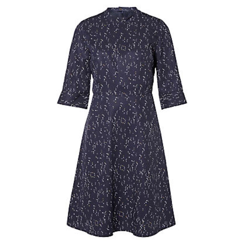 Selected Femme Gaila Printed Dress, Dark Sapphire