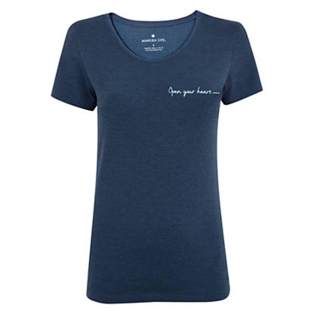 Manuka Heart Yoga T-Shirt