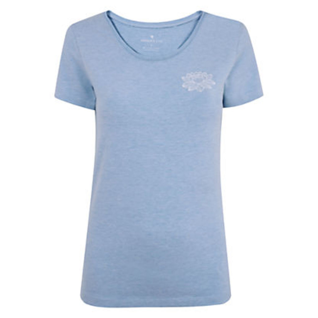 Manuka Lotus Print T-Shirt