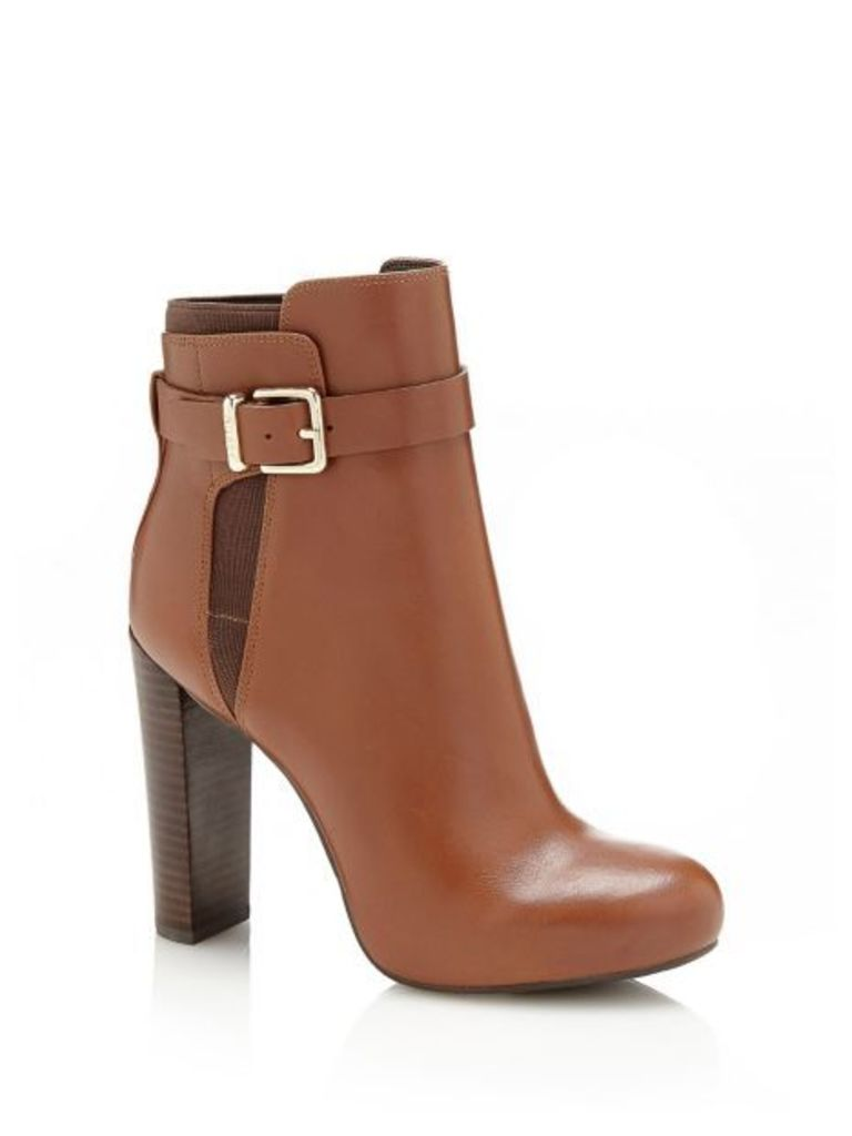 Guess Denisa Leather Ankle Boot