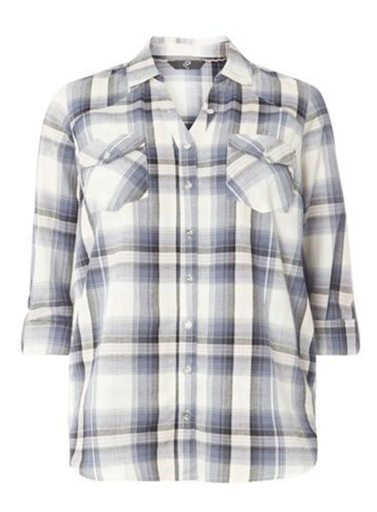 Blue and White Check Shirt, Others