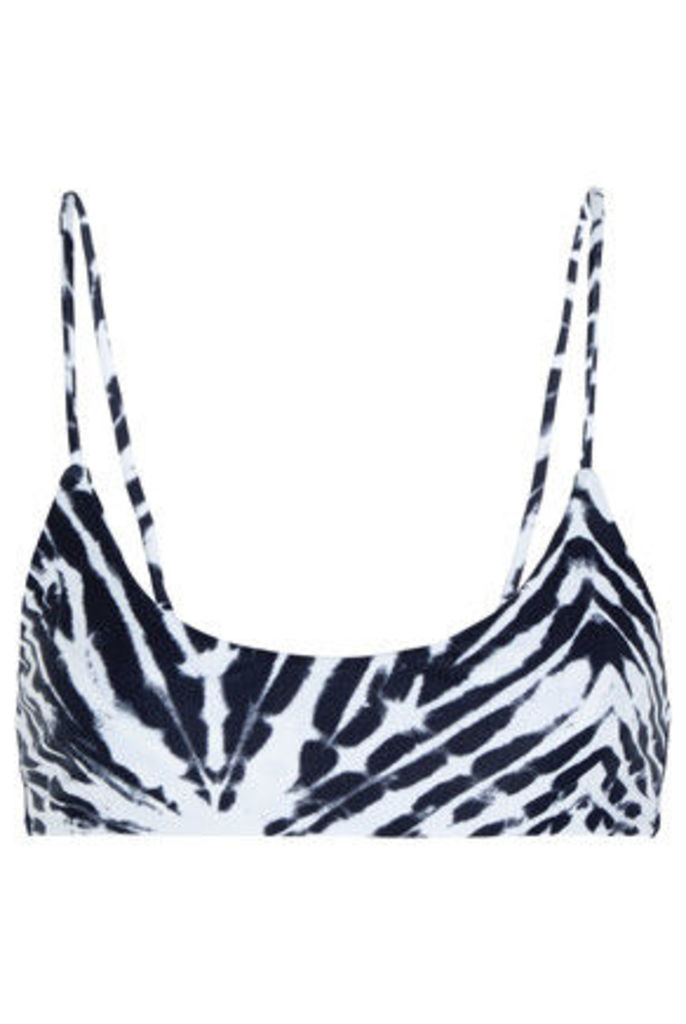 Mikoh - Hermosa Printed Bikini Top - Black