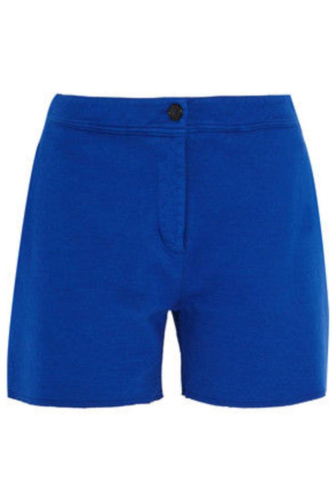 Acne Studios - Gioia Cotton-blend Jersey Shorts - Bright blue