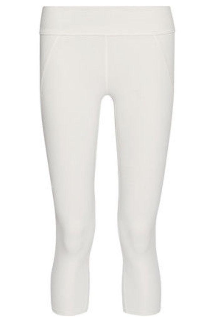 Live The Process - Contour Stretch-supplex® Leggings - White