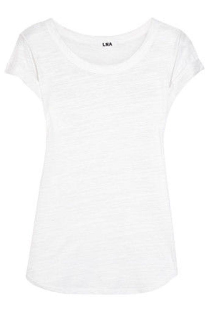 LNA - Mcqueen Slub Jersey T-shirt - White