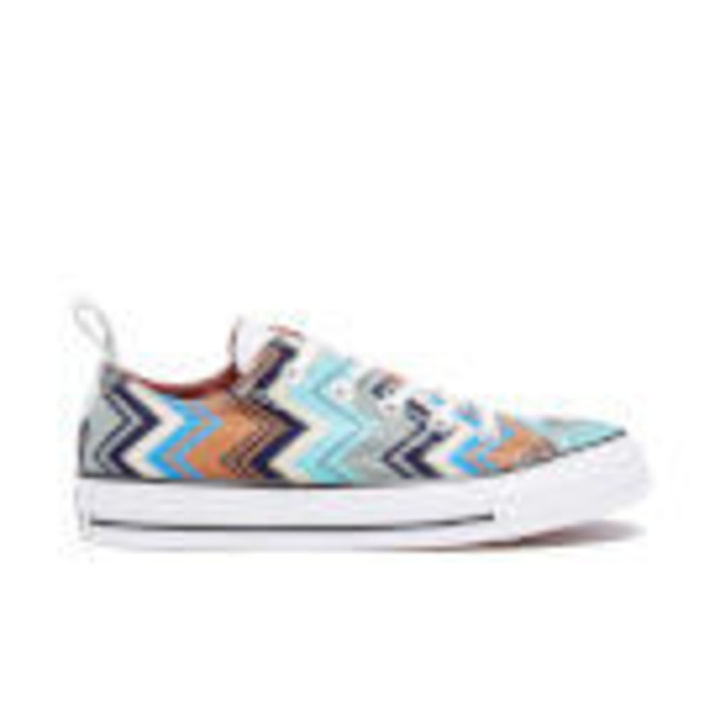 Converse X Missoni Women's Chuck Taylor All Star Ox Trainers - Multi/Egret/Black