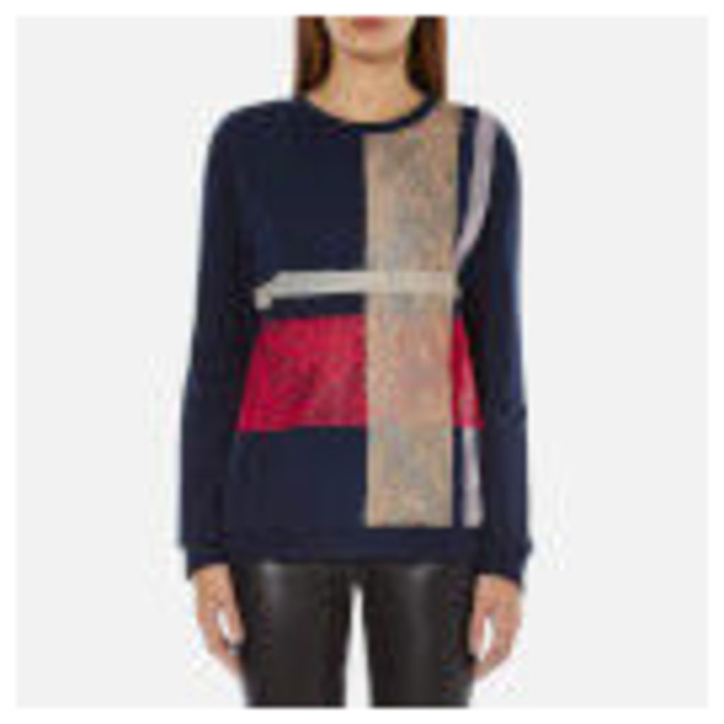 Sportmax Code Women's Fida Lace Sweatshirt - Midnight Blue