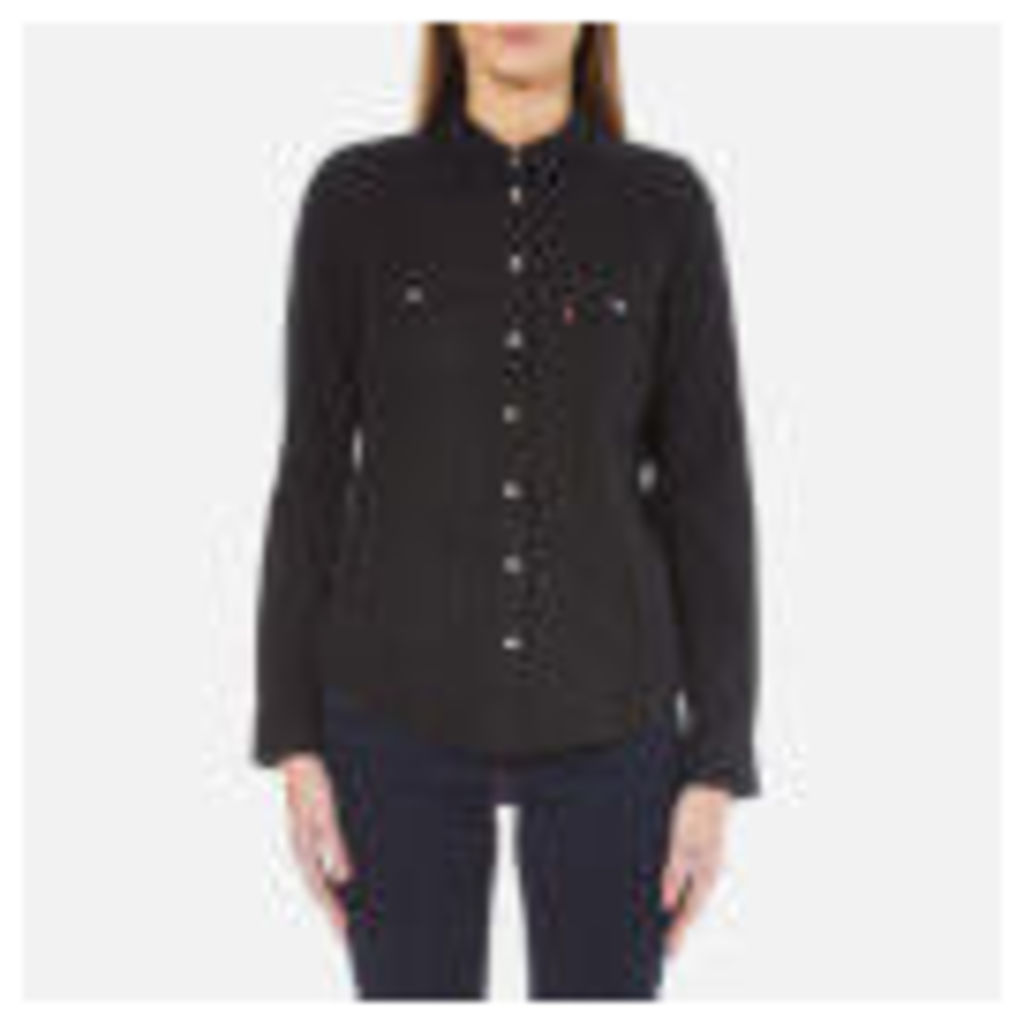 Levi's Women's Modern Western Shirt - Black Ink