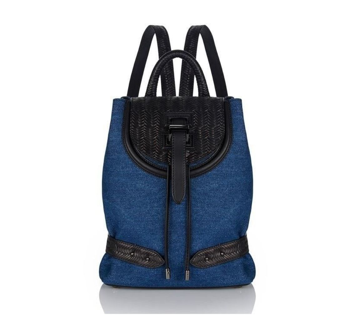 Backpack Mini Blue Denim