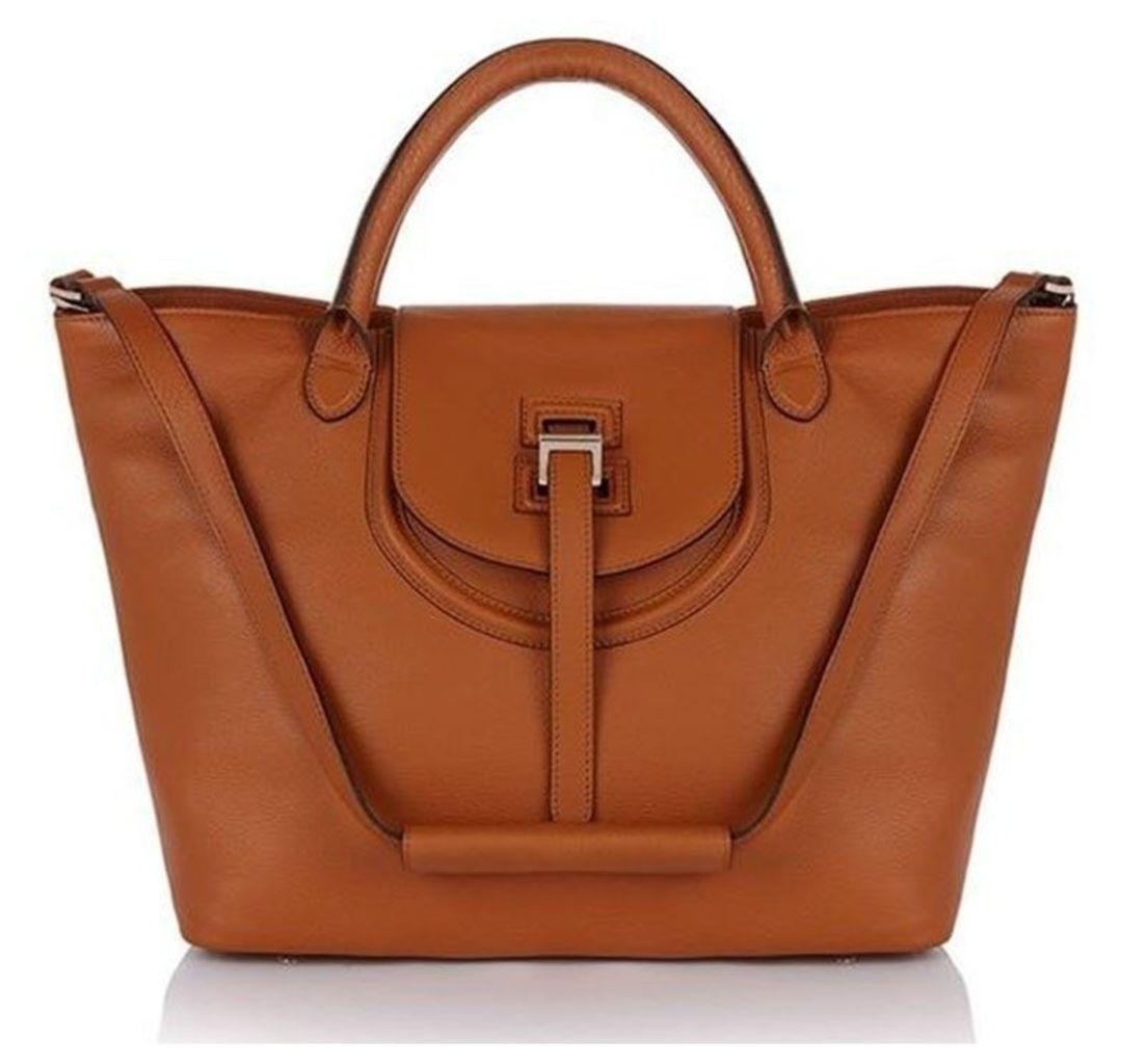 Halo Tote Bag Tan
