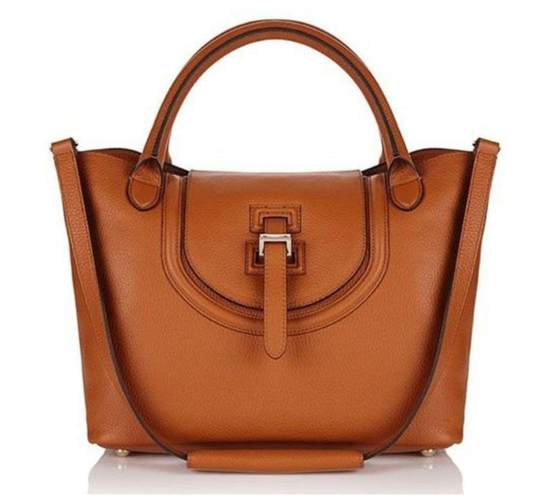 Halo Medium Tote Bag Handbag in Tan