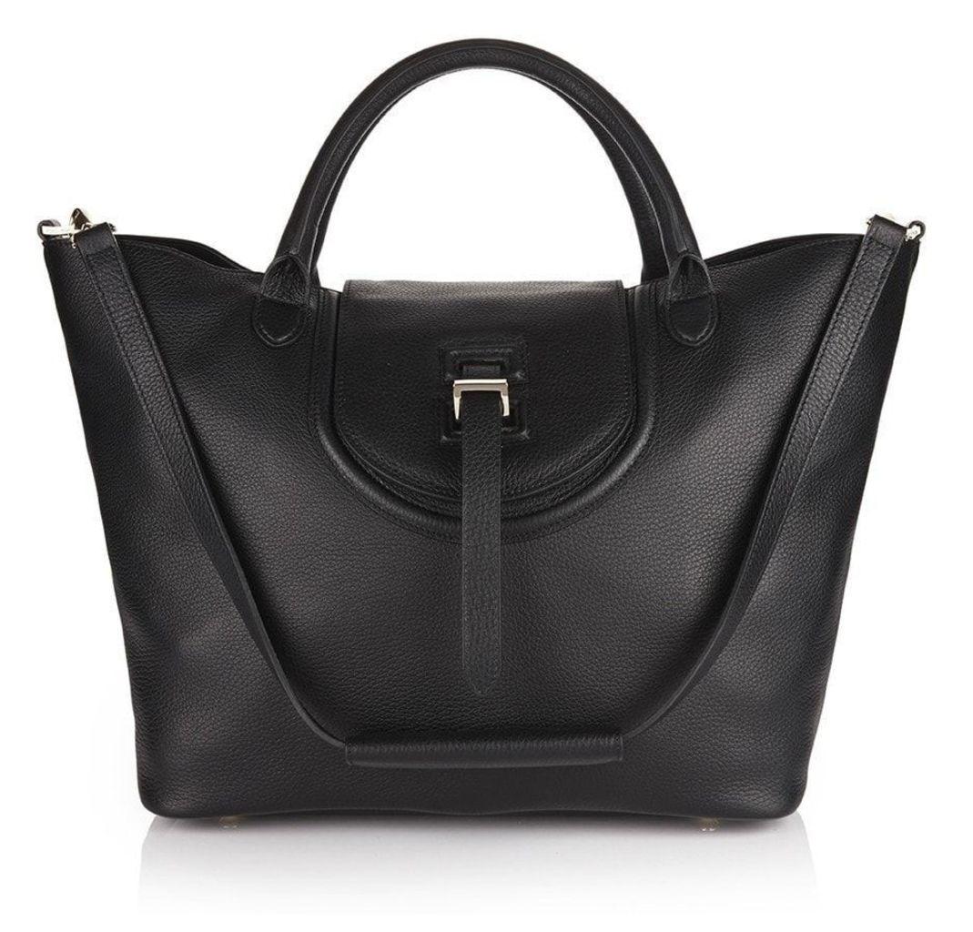 Halo Tote Bag Black
