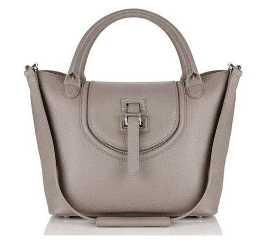 Halo Medium Tote Bag Handbag in Taupe