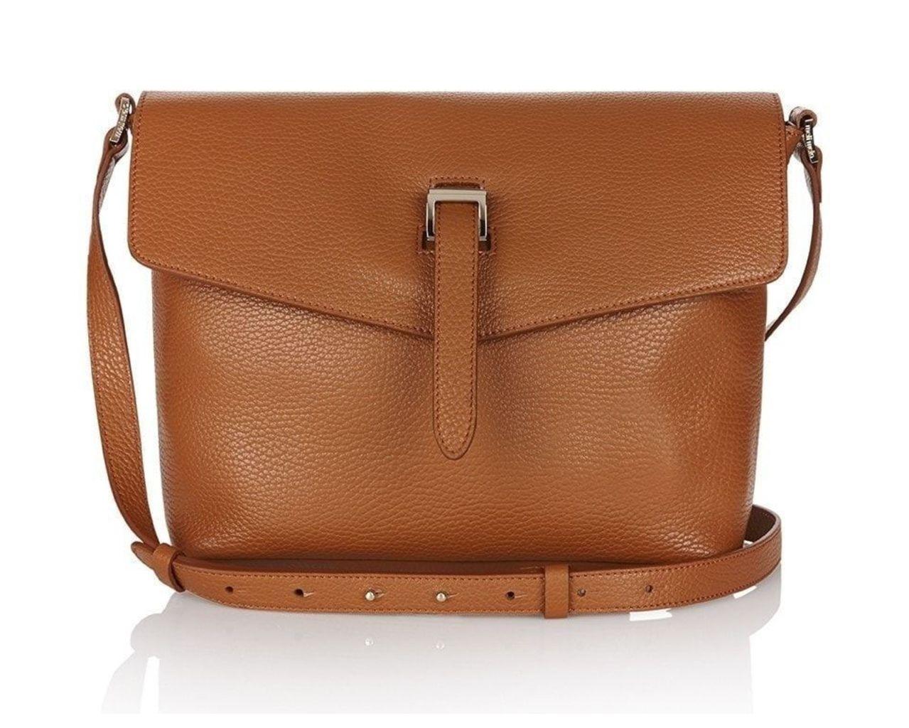 Maisie Medium Cross Body Bag Tan