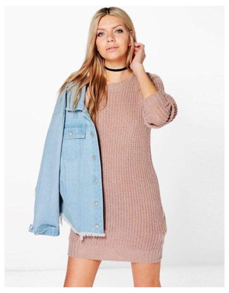 Boohoo Soft Knit Jumper Dress