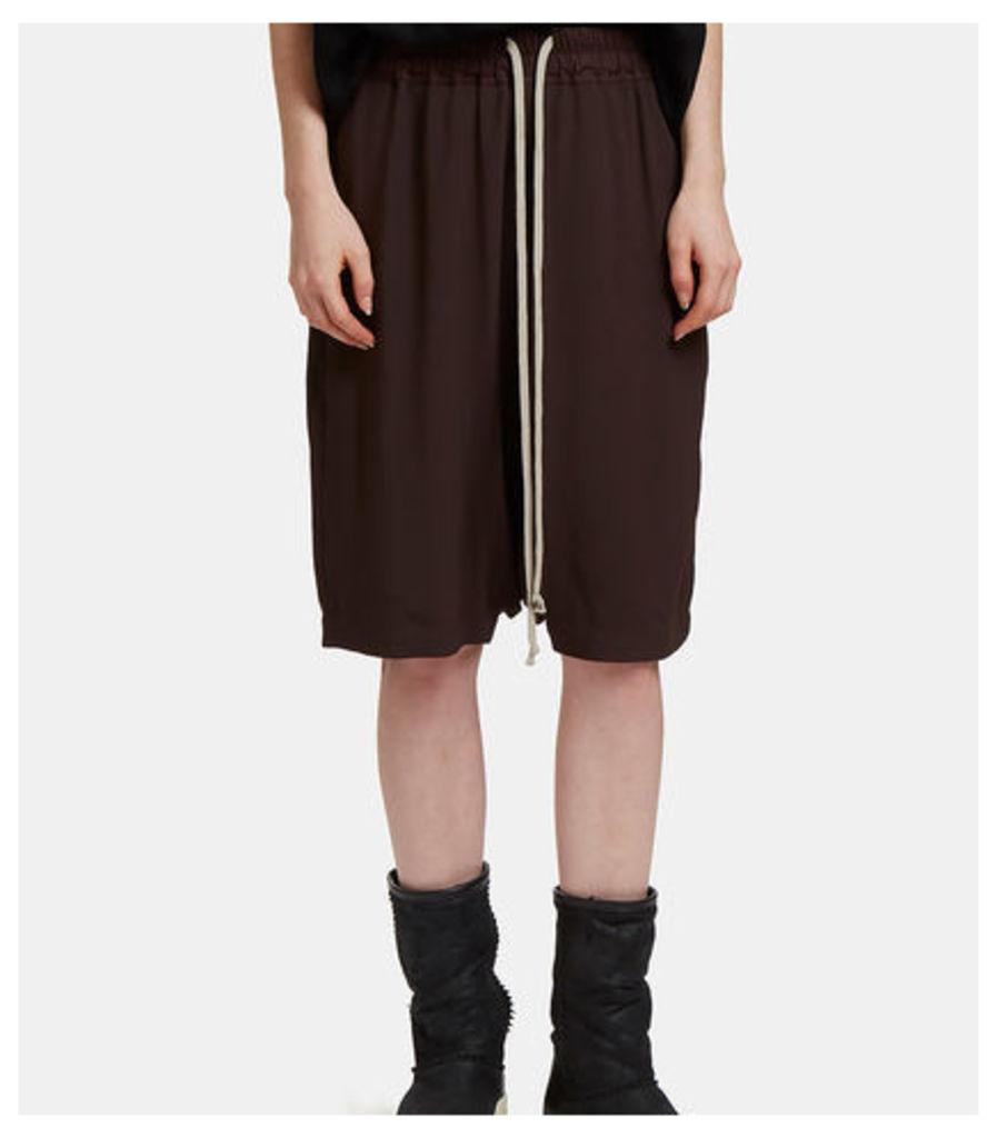 Dropped Crotch Pod Shorts