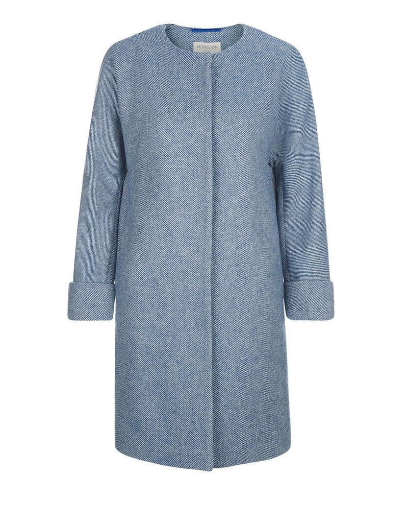 Selina Stripe Coat