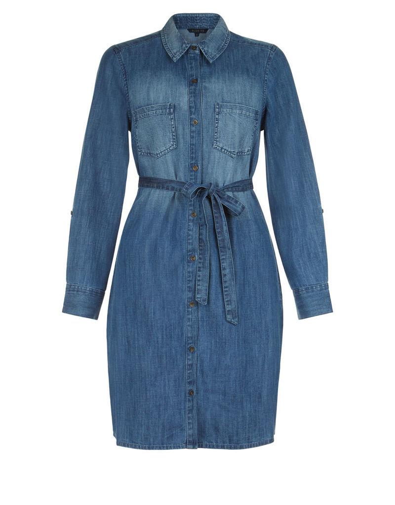 Leighton Denim Shirt Dress