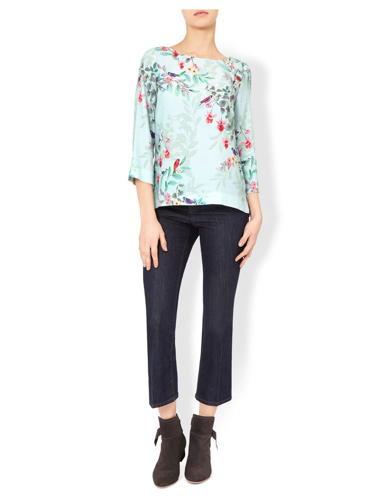 Avery Floral Print Top
