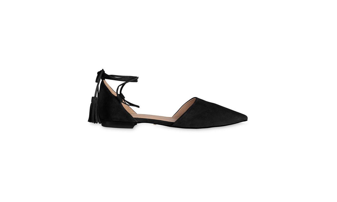 Arden Tassel Flat Point Shoe