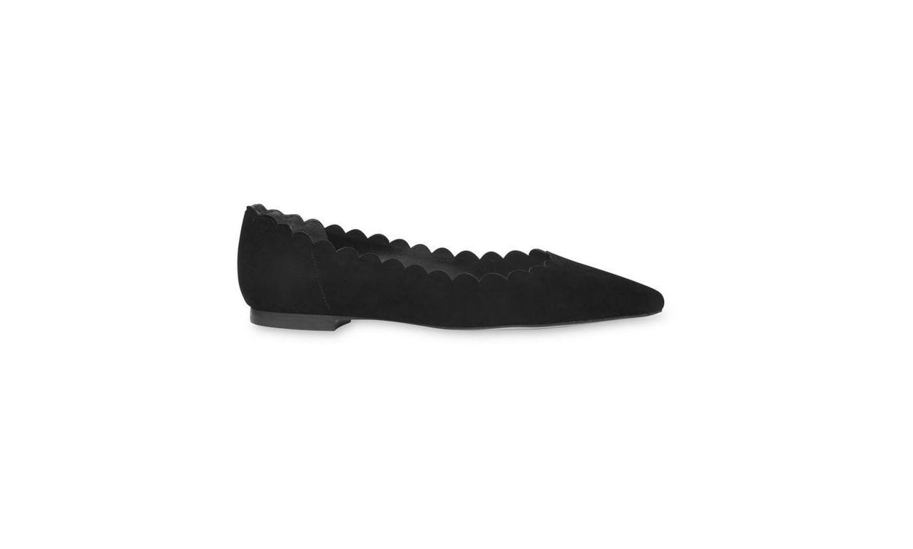 Rennie Scallop Flat Point Shoe
