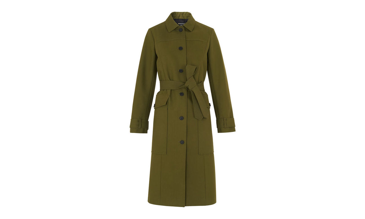Gia Single Breasted Trench