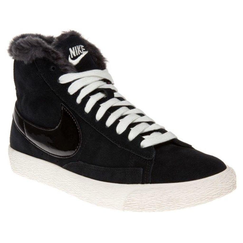 Nike Blazer Mid Trainers, Black