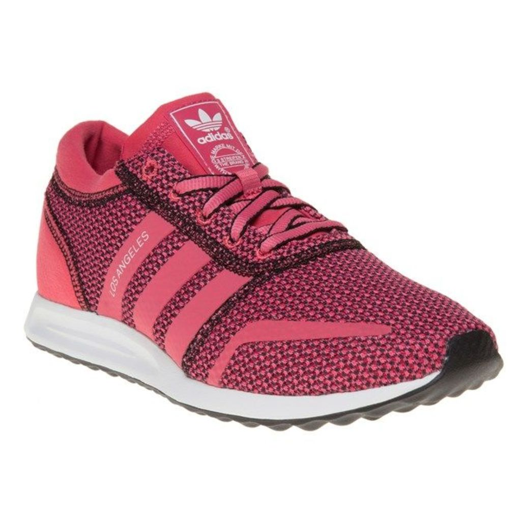 adidas Los Angeles Trainers, Lush Pink/White