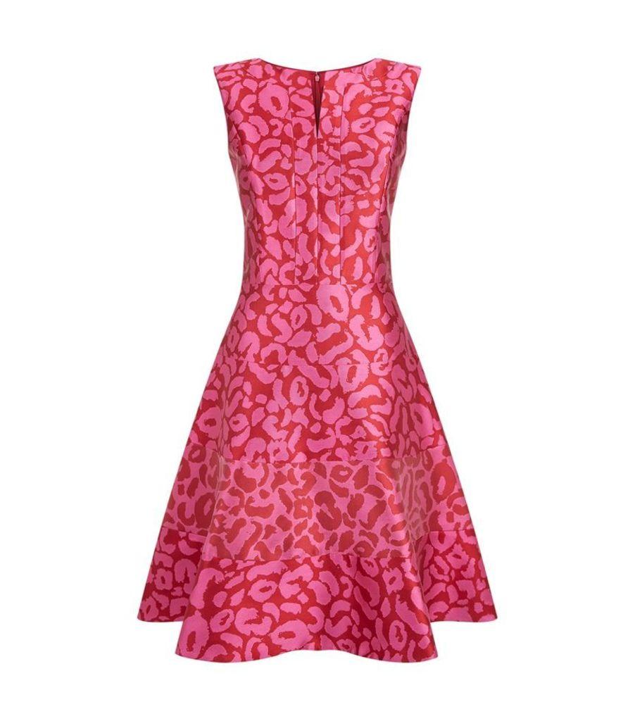 Oscar De La Renta, Animal Print Dress, Female