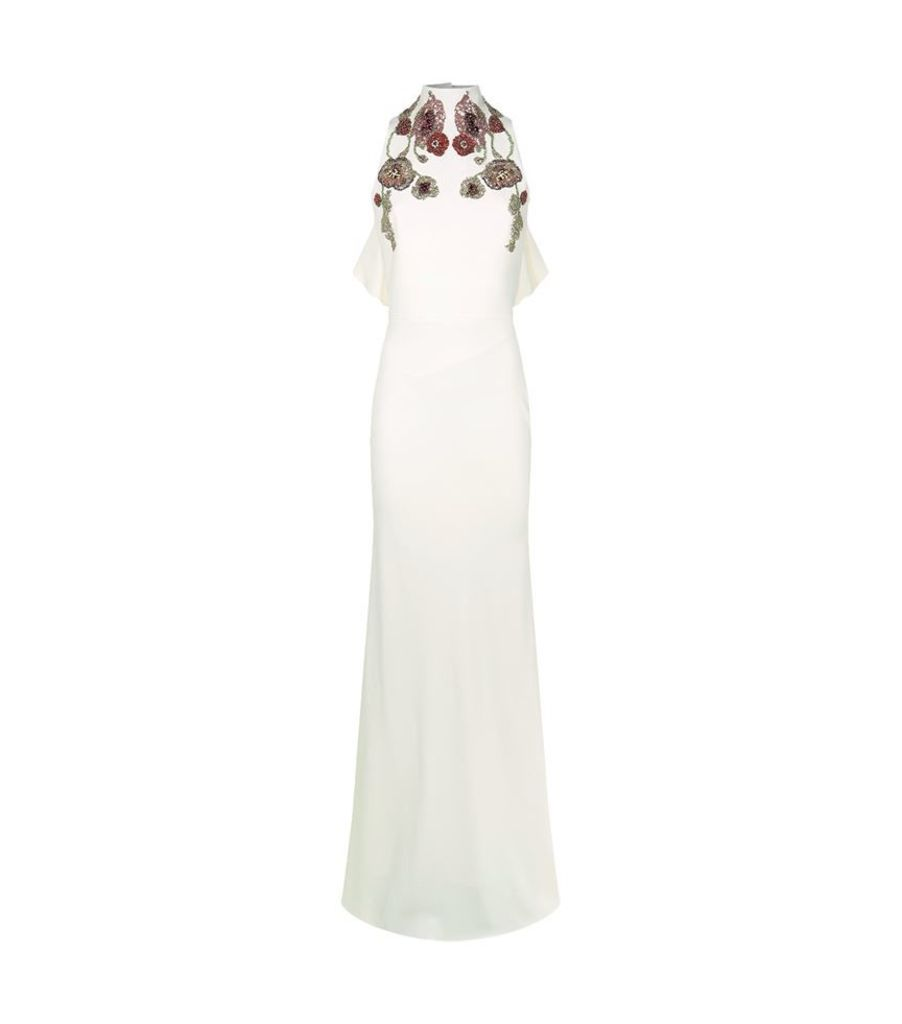Alexander Mcqueen, Embellished Sleeveless Gown, Female
