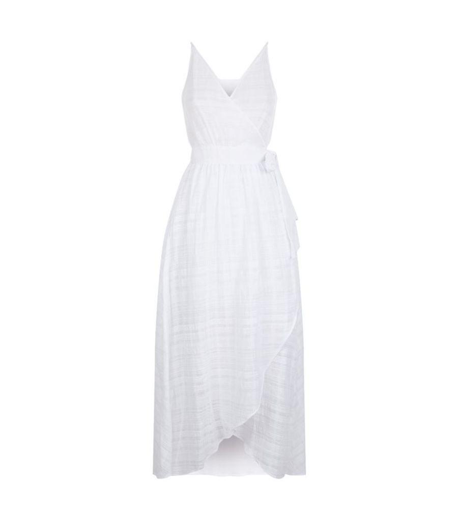 Seafolly, Dobby Stripe Wrap Dress, Female