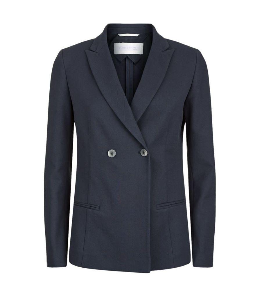 Fabiana Filippi, Cotton Tuxedo Jacket, Female