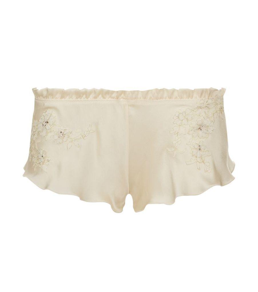 Carine Gilson, Lace Swarovski Boxer Shorts, Female