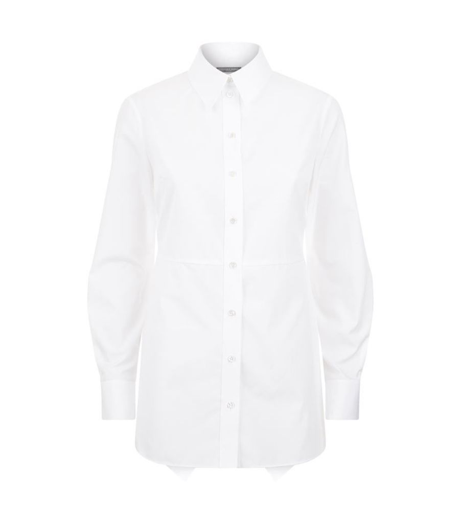 Alexander Mcqueen, Peplum Back Shirt, Female