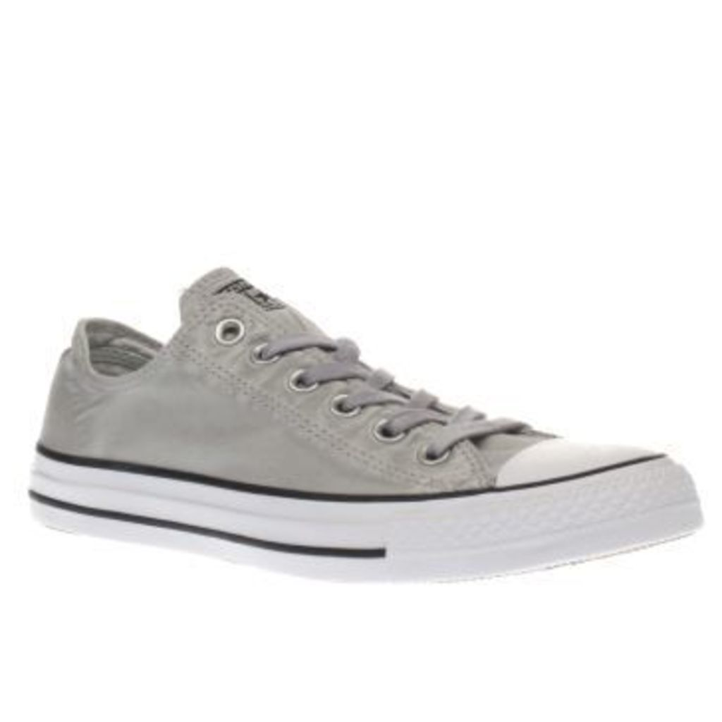Converse Grey All Star Kent Wash Ox Womens Trainers