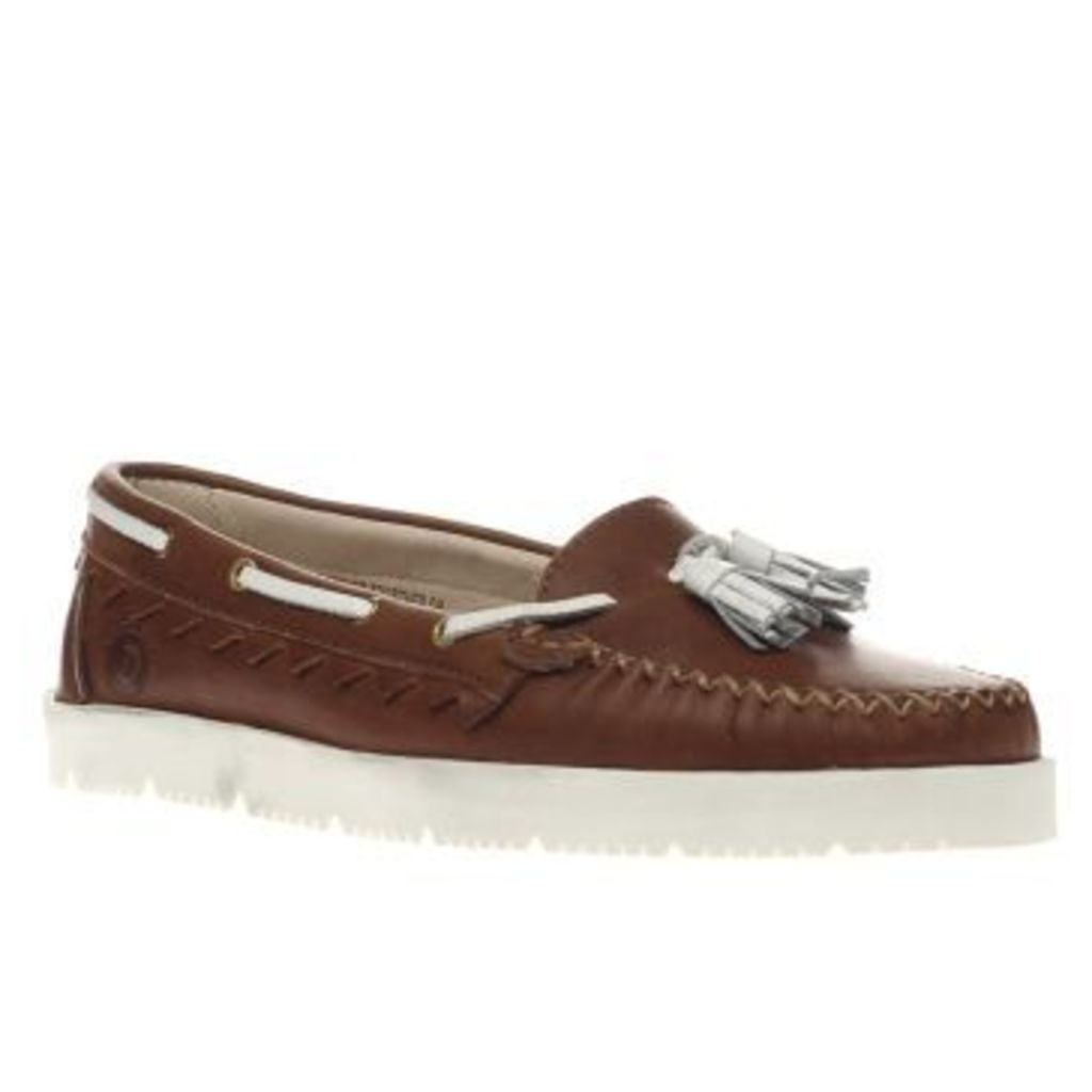 Red Or Dead Tan Daphne Womens Flats