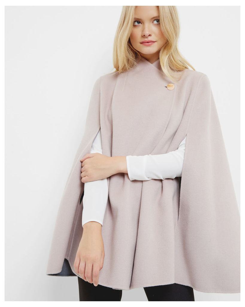 Ted Baker Reversible wrap over cape Pink