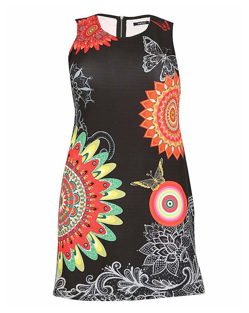 Samya Psychedelic Print Dress