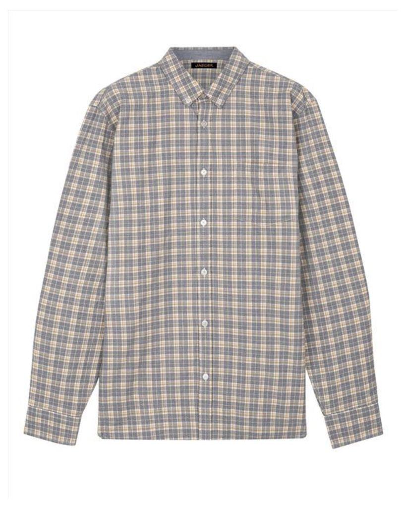 Mouline Large Check Shirt