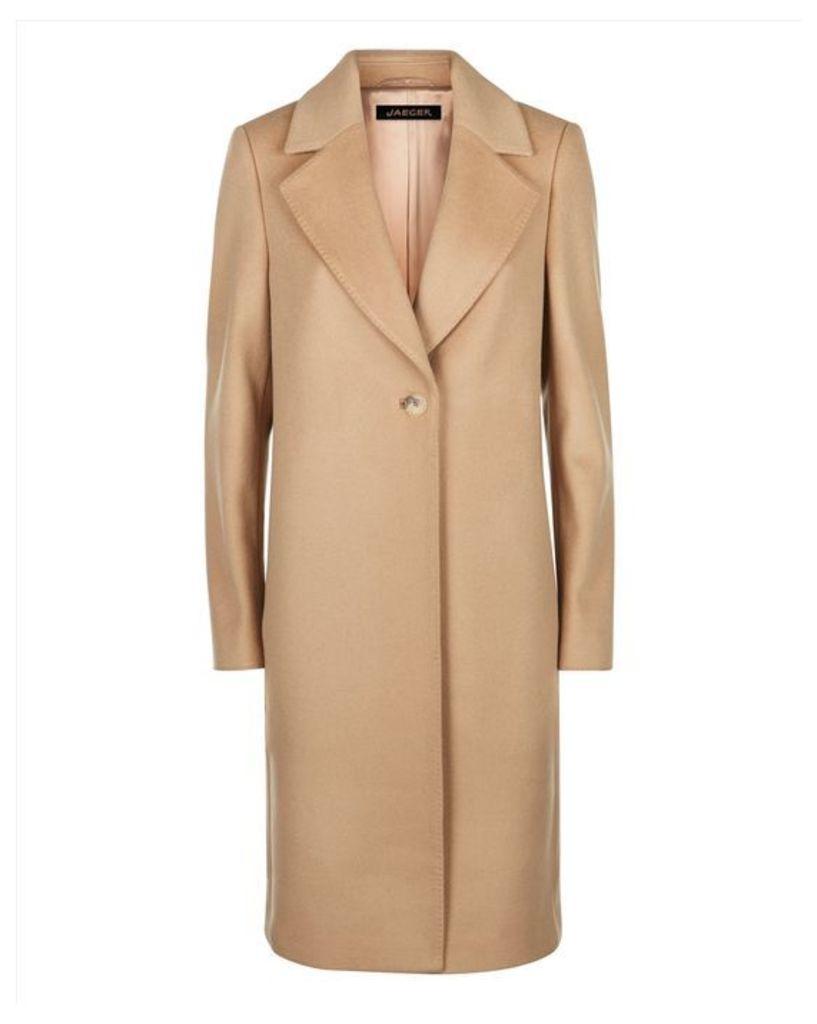Wool Cashmere Boyfriend Coat
