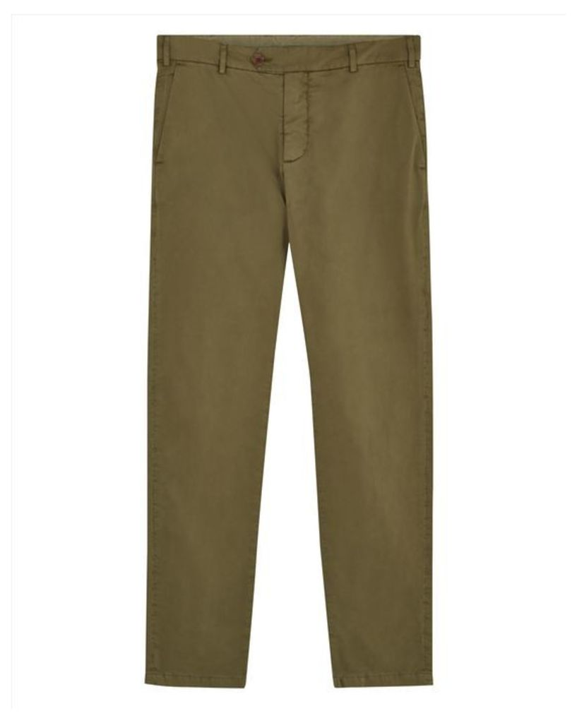 Garment-Dyed Twill Chinos