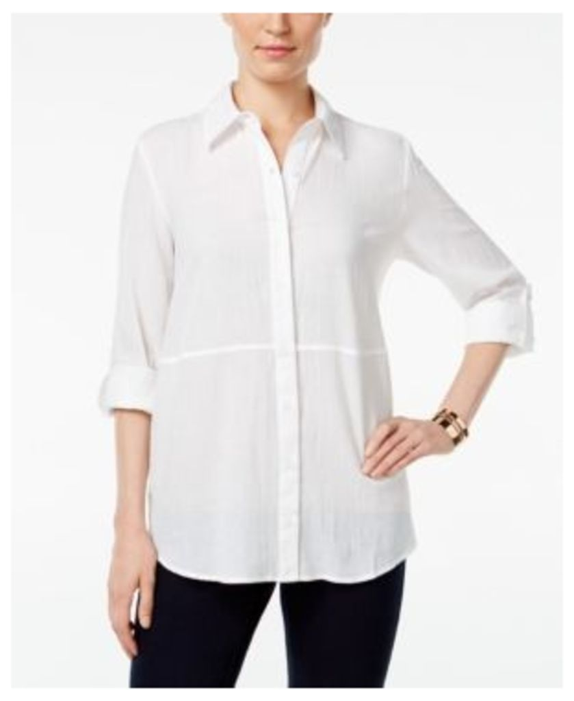 Style & Co. Roll-Tab Shirt, Only at Macy's