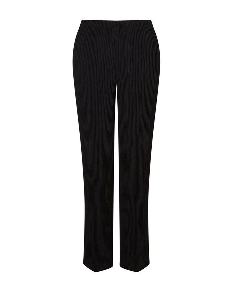 East Pleated Trousers, Black