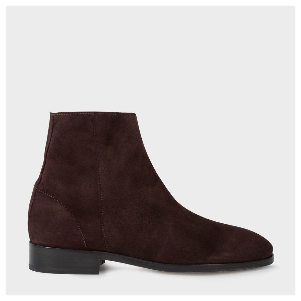 Women's Dark Damson Suede 'Brooklyn' Boots