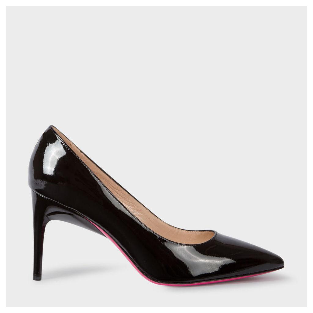 Women's Black Patent Leather 'Ellis' Shoes